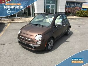 2013 Fiat 500C Lounge convertible cuir