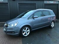 Vauxhall zafira 1.8 petrol SRI 7 seater!