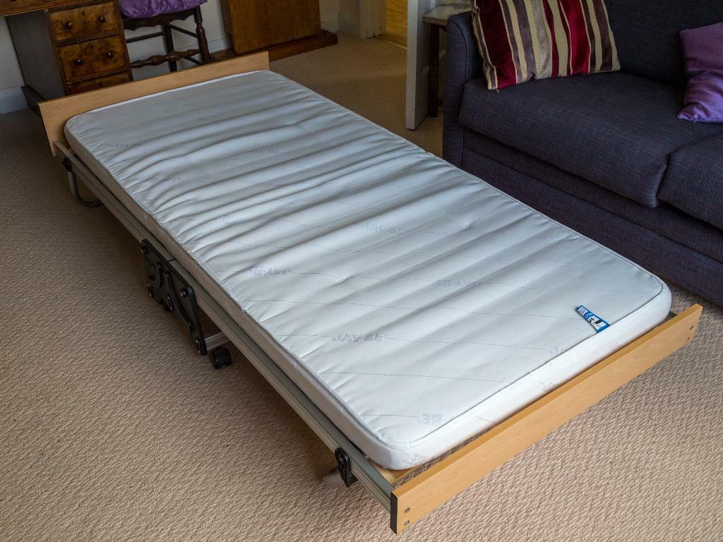 Jay be fold up 3 foot wood base bed in excellent condition for Beds exmouth