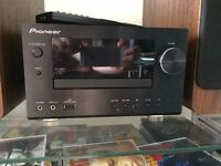 FOR SALE: Pioneer CD/USB Player with 2x Q Wooden Speakers