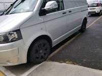 VW golf transporter t5 alloy wheels, genuine bmw rims, 225/45 17 93. Polo passat Volkswagen