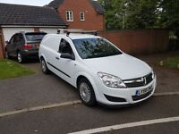 2009 58plate vauxhall astra van 1.7cdti 38k from new