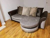 Two four seater couches