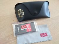 Ray Ban Sunglasses case and accessories