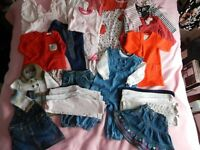 Baby Girls Clothes 9-12mths Large Bundle. Very Good Condition