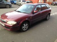 MAZDA 323 ESTATE 1.6 PETROL NOT FORD FOCUS VAUXHALL ASTRA VW GOLf FIESTA CORSA POLO TOYOTA CORROLLA