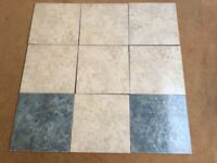 Floor and wall tiles. Various ceramic tiles in perfect condition.