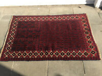 Baluchi Prayer Style Rug, in good condition. Size L 138cm x W 88cm.