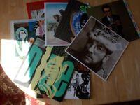 8 ELVIS COSTELLO LP'S