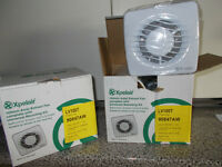2 brand new Xpelair LV100T Extract fan £40 each