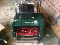 ATCO BALMORAL LAWNMOWER with Scarifier attachment £495