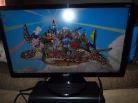 2 HD monitors