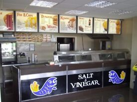 FISH & CHIPS / KEBABS/ PIZZA SHOP,