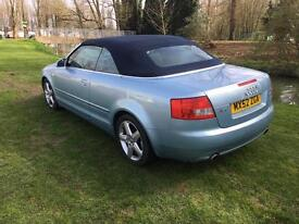 Audi A4 cabriolet/convertible 2002
