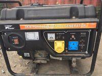 Pro user 3kw portable petrol generator