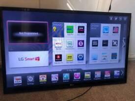 "43"" LG smart tv"
