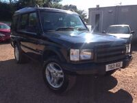 1999 LAND ROVER DISCOVERY 2.5TD MOT JULY 2017! DRIVE AWAY TODAY!