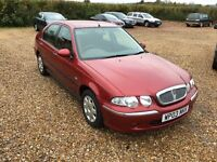 2003 Rover 45 1.6 with low miles