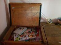 Antique childrens desk