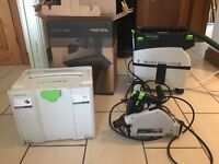 Festool extractor and saw