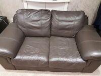 2 Seat Faux leather Sofas