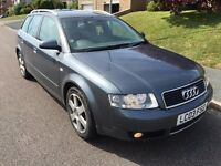 Audi A4 Avant 1.9 TDI Estate - Full Service History - Leather Interior