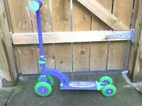 Ozbozz blue scooter for sale