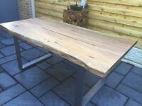 Stunning, Indian Hardwood Dining Table., New / Unused