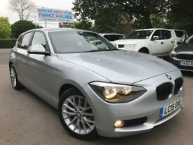 FINANCE £226 PER MONTH 2015 BMW 118i SE 1.6 PETROL AUTOMATIC 15950 MILES 1 OWNER 2 KEYS LEATHER
