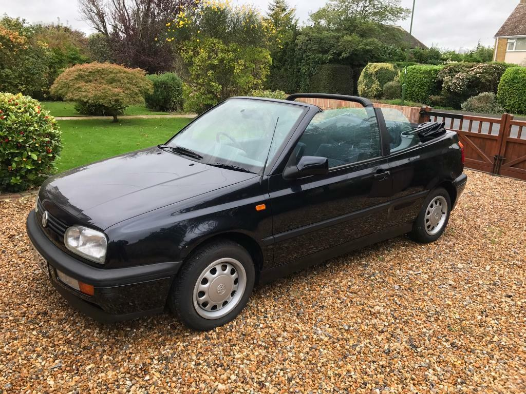 vw golf mk3 cabriolet 1 8 auto in east preston west sussex gumtree. Black Bedroom Furniture Sets. Home Design Ideas