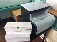 HP Colour LaserJet CM1312 MFP + 2 toners (Does not print perfectly - please read the description)