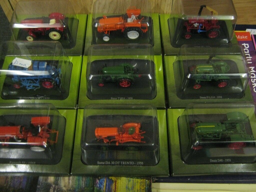 Model Tractors, from World of Farming partwork, £3 each, 2 for £5