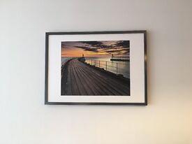 Picture, water/ pier scene
