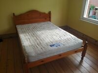 Silentnight mattress for double bed (in Oxford)