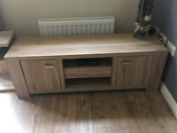 Modern TV stand and two side tables