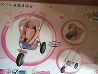 Baby born dolls pushchair 2 in 1 brand new