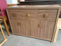 Modern three drawer sideboard