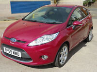 FORD FIESTA 1.4 TITANIUM 5d AUTO 96 BHP GREAT EXAMPLE OF AUTOMATIC + 1 PREVIOUS KEEPER +