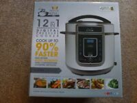 PRESSURE KING PRO - 12 IN 1 DIGITAL PRESSURE COOKER - BOXED