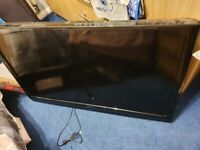 """42"""" Hitachi TV with wall mount"""
