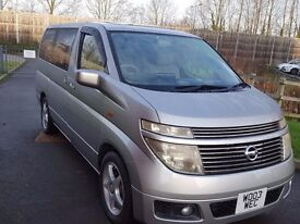 fresh import Nissan Elgrand(2003) 3.5, 8 seater, Twin sunroof, excellent condition, clean interior