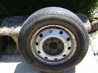 renault master wheel and tyre