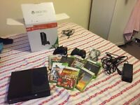 Xbox 360 - 250gb including 2 controllers and 7 games (latest model)