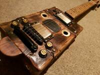 Haystack Cigar Box style Handmade 6 string electric guitar