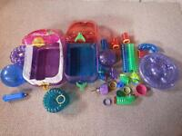 2 Hamster cages plus accessories