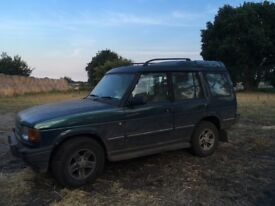Land Rover discovery breaking for spares