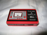 Nintendo Game Ball Watch Boxed - Can deliver free see details