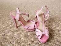 Carvela by Kurt Geiger pink suede shoes
