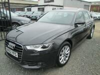 Audi A6 2.0 TDI SE 5dr + BLACK LEATHER + SATNAV + FULL SERVICE HISTORY (grey) 2012