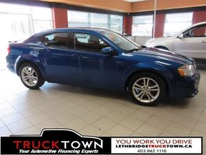 2013 Dodge Avenger LOW KMS-HEATED SEATS